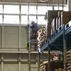 倉庫の修繕