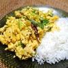 [作ってみた]インドのいり卵、エッグポリヤル
