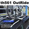 THULE Outride561を2台。VW:ゴルフオールトラック(ワゴン):AUCJSF系に取付