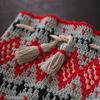 かぎ針の編み込みColorwork Kinchakuを編みました