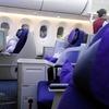 エアチャイナ 北京ーシンガポール B787ビジネスクラス Newシートに変更で快適な空の旅になったか?