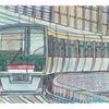 イラスト-横浜シーサイドライン鳥浜駅