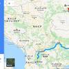 ルート作成⑤マケドニア~ルーマニア