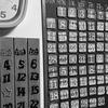 万年カレンダーを作った。