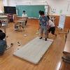 やまびこ:教室でマット運動