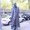 Neural Style Transfer ベルリンの歩道の銅像
