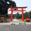 上賀茂神社での見逃し。