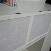 DIY 棚に扉をつける