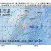 2017年08月01日 07時36分 種子島南東沖でM4.3の地震