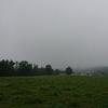 曇りのち雨。大雨。