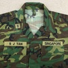 【シンガポールの軍服】陸軍迷彩ジャケット(リーフパターン)とは? 0447 🇸🇬ミリタリー