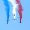 【パトルイユ・ド・フランス】フランス空軍アクロバットチームをアルプスの麓・グルノーブルで見る