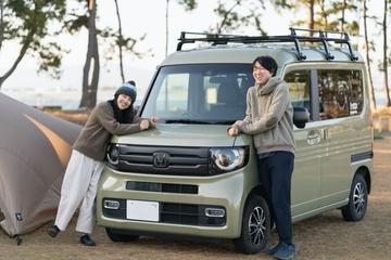 Honda軽自動車N-VANで『ゆるキャン△』モデル地巡りへ! 自然体で楽しむ夫婦キャンプ&車中泊スタイル