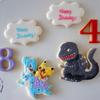 お誕生日にラプラス&シンゴジラクッキーでお祝い!♫