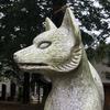 初富稲荷神社のお狐さん