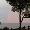 虹と雨の3回目ソロキャンプ⛺🌈☔️