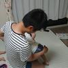 三才息子、一才娘の楽なおむつ替え方法