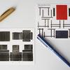 アート感あふれる名作椅子コルビュジェのポストカード