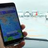 雨雲の様子をチェックできるアプリ(日経DUAL)