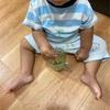 次男1歳は小松菜ジュースが好き