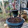植木鉢の塗装