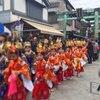 江島神社の「貝供養神事」稚児行列と稚貝放流の巻
