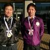 銀メダルと銅メダル。