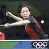 卓球・石川佳純、初戦で涙…北朝鮮選手に3―4