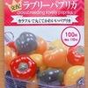 「ラブリーパプリカ」の水耕栽培に挑戦します。実の色が緑→オレンジ→赤に変わる面白い品種です