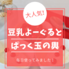 盛田屋の豆乳よーぐるとぱっく【玉の輿】の使い方と口コミは?実際に使ってみました!
