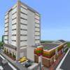 オフィスビルを作る② & コンビニを作る [Minecraft #31]