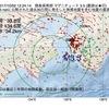 2017年10月02日 12時24分 徳島県南部でM3.5の地震