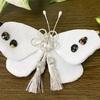 ちりめん細工 紋白蝶の香袋
