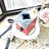 【カルトナージュレッスン】Originalレッスンクラス・Cube型(キューブ型)ティッシュボックス
