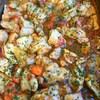 鶏とトマトのソース炒め
