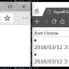 ASP.NET Core SignalR を試す