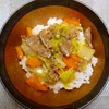 野菜苦手なあー子もつい完食してしまう、牛肉と白菜の餡かけご飯☆【レシピ】