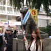 Tôi đã tạo YouTube clip! - ハチ公像(有名な犬)Tượng bằng đồng Hachiko (chú chó nổi tiếng)