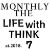 MONTHLY THE LIFE with THINK at 2018.7