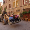 喀什 「市場の屋台」