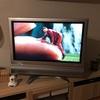 新しいテレビがやってきた〜♪