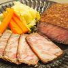 冷やして食べる☆霜降り肉のローストビーフ