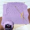 風邪ひき編み物