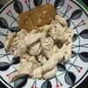 棒々鶏とゆで野菜の胡麻ソースかけ