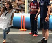 木村昇吾 都内開催のクリケット普及イベントで感じた反省点とは