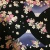 ワークショップで桜柄の御朱印帳作ったよ(●´ω`●)