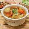 簡単!!ソーセージとたっぷり野菜のマスタードスープの作り方/レシピ