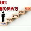 【必読】結果を出す人と出さない人の違いは『目標設定』にある!