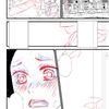 デジタルコミックの下描きの色