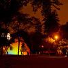ペルー・リマのレセルバ公園の噴水ショーがとっても幻想的!
